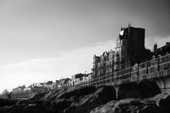 Hastings. This is a photo taken in the famously Victorian Hastings in Sussex Royalty Free Stock Photography