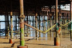 Hastings pier Stock Images
