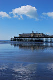 Hastings Pier. On England's south coast Royalty Free Stock Photos