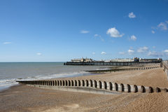 Hastings Pier, East Sussex, Royalty Free Stock Images