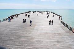 Hastings-Pier, England Lizenzfreies Stockbild