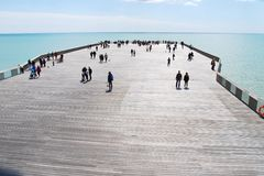 Hastings pier, England Royalty Free Stock Image