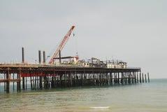 Hastings pirrekonstruktion fotografering för bildbyråer