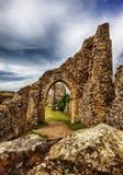 Hastings-Schloss in der Stadt von Hastings, Ost-Sussex Lizenzfreie Stockfotos