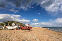 Hastings strand arkivbild