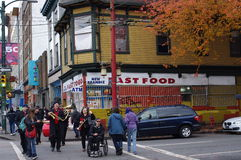 Hastings Street gets some life royalty free stock photo