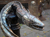 HASTINGS, SUSSEX/UK DEL ESTE - 6 DE NOVIEMBRE: Rey Wrapped en el Coi Fotografía de archivo libre de regalías