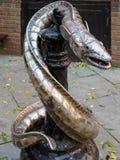HASTINGS, SUSSEX/UK DO LESTE - 6 DE NOVEMBRO: Rei Wrapped no Coi Imagem de Stock Royalty Free