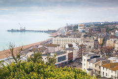 Hastings town view Stock Image