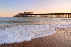 Hastins pier, East Sussex, UK. Stock Photography