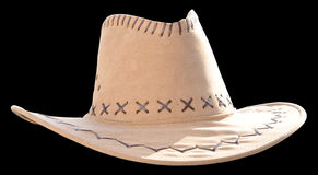 Hat. Cow boy mexican hat black background Stock Photography
