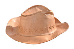 Hat. Cow boy mexican hat white background Stock Photos