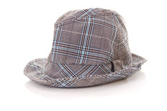 Hat. Grey hat isolated on white background royalty free stock images