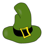 The hat. Of the leprechaun Stock Photography