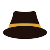 Hat accessory icon Royalty Free Stock Photography