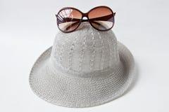 Hat&sunglass Foto de archivo
