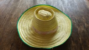 Agriculture Hat assembled product handmade Royalty Free Stock Photography