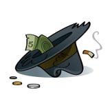 Hat of beggar Stock Image
