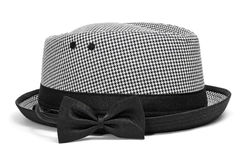 Hat and bow tie Stock Photo