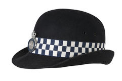 Hat of British police officer Stock Photography