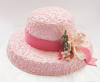 Hat cake Royalty Free Stock Images