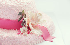 Hat cake Royalty Free Stock Photos