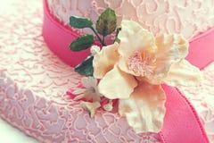 Hat cake Stock Photo