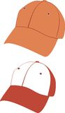 Hat and  cap template Stock Photo