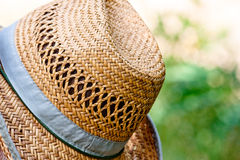 Hat close up rest at sunny day Royalty Free Stock Photos