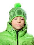 Hat clothing boy Stock Image