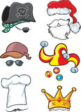 Hat collection 2 royalty free illustration