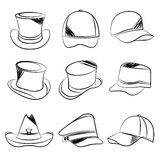 Hat collection Stock Photos