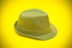 Hat in cowboy style Royalty Free Stock Photo