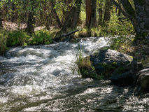 Hat Creek. In the Lassen National Forest, California Stock Photo