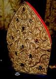 Hat de obispo fotografía de archivo libre de regalías
