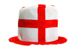 Hat english soccer Stock Image
