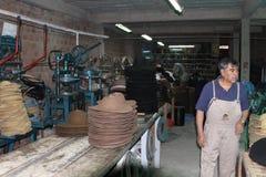 Hat Factory, Sucre Bolivia Stock Photos
