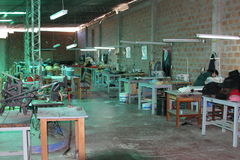 Hat Factory, Sucre Bolivia Stock Photography