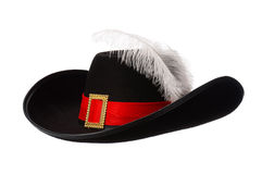 Hat with feather Stock Images