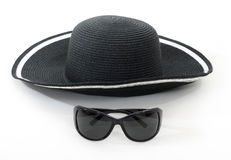 Hat and glasses Royalty Free Stock Photos