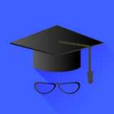 Hat and Glasses Stock Image