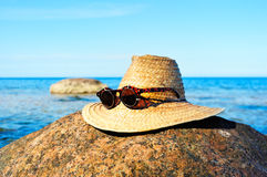 Hat and glasses Stock Photography
