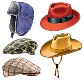 Hat golvny attire cap peak-cap fashion Stock Photography