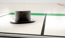 Hat Icon On A Boardgame Stock Photo