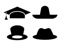 Hat icon Royalty Free Stock Images