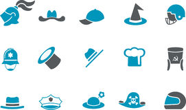 Hat Icon Set Royalty Free Stock Images