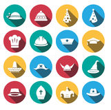 Hat icon set.vector.illustration. Stock Images
