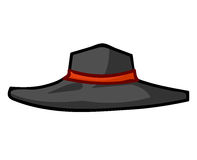 Hat isolated illustration Royalty Free Stock Images