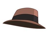 Hat isolated illustration Royalty Free Stock Photo