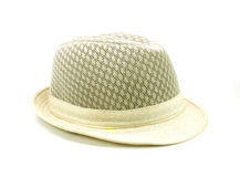Hat isolated on a white Royalty Free Stock Photo